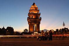 """Liberty monument"", Phnom Penh, Cambodia"