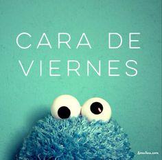 Cara de Cookie Monster para todos los Limatinos del planeta. #BuenViernes