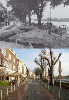 To celebrate the liberation of Arnhem which took place exactly 70 years ago today we will take a look at the town in a fantastic selection of Then and Now Then And Now Pictures, Ap World History, Asian History, Tudor History, British History, Operation Market Garden, Famous Pictures, German Army, Historical Pictures