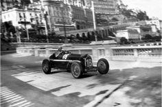 GP Monaco 1934 , Scuderia Ferrari , Alfa Romeo P3 #16 Driver Louis Chiron , second place overall