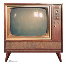 Vintage TV - Advanced Graphics Life Size Cardboard Standup