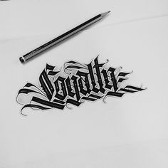- Callygraphy by Daniel Letterman Tattoo Lettering Design, Gothic Lettering, Chicano Lettering, Graffiti Lettering Fonts, Lettering Styles, Script Lettering, Tattoo Fonts, Graffiti Art, Graffiti Alphabet Styles