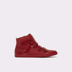 Esal-U Make a fashion statement with these cool high-top sneakers.