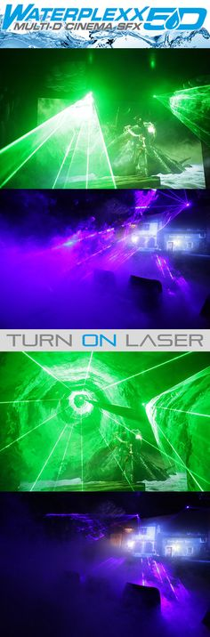 Waterplexx 5D // Lasers // © 2012 Kraftwerk Living Technologies // www.kraftwerk.at