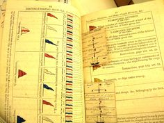 Naval signals. Document held in the Lacock Abbey collection at the Wiltshire and Swindon History Centre (Collection Ref 2664)