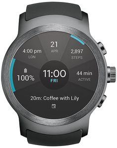 Amazon.com: LG Watch Sport Unlocked GSM (Silver/Titan): Cell Phones & Accessories