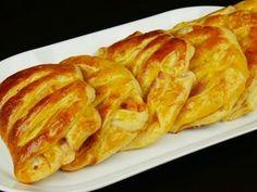 Οι πιο αφράτες ζαμπονοτυρόπιτες για κολατσιο! Cookbook Recipes, Snack Recipes, Cooking Recipes, Snacks, Greek Recipes, Finger Foods, Food Videos, Food Processor Recipes, French Toast