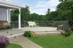 painted decks without railings - Google Search