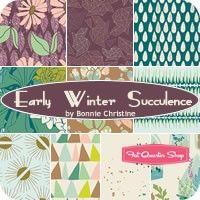 Early Winter Succulence Fat Quarter Bundle<BR>Bonnie Christine for Art Gallery Fabrics
