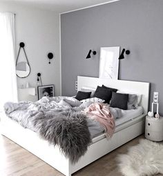 Love the grey with a touch of dusty pink