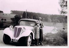 Oświęcim Praga. Cars manufactured in Oświęcim before WW2. Photo: courtesy of Marcin Sa'mek.