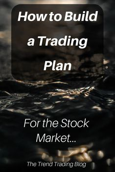 In this article, discover how to build a trading plan for the stock market. In this article, discover how to build a trading plan for the stock market.