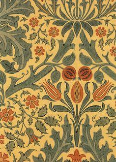 William Morris Wallpaper. #morris #design