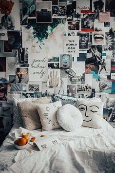 Bohemian Bedroom Decor Ideas - Discover Bohemian Bedrooms You . - Bohemian Bedroom Decor Ideas – Discover Bohemian Bedrooms that will motivate you to … - Vintage Room, Bedroom Vintage, Modern Bedroom, Vintage Teenage Bedroom, Trendy Bedroom, Vintage Diy, Vintage Modern, Eclectic Bedrooms, Teenage Room