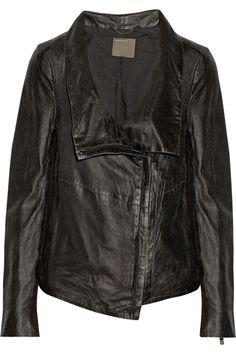 Muubaa Prome washed-leather jacket s3