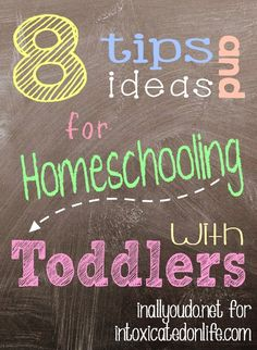Get tips and ideas on how you can successfully homeschool with a toddler