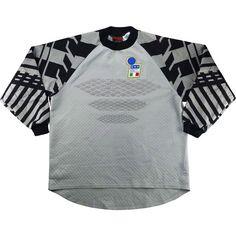 5c4da24b20e 1994-96 Italy Match Issue GK Shirt  12 - Classic Retro Vintage Football  Shirts