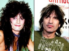 Tommy Lee. Before & After Looks a lot better now then when he was younger!
