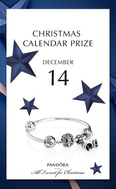 We are treating you for a styled bracelet 14th of December to commemorate advent with christmas bells #PANDORAchristmascontest #PANDORAgiftidea | www.goldcasters.com