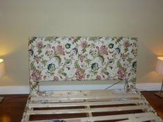 como fazer cabeceira e base de cama