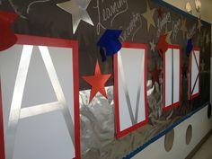 AVID Classroom Display! Duck tape baby!