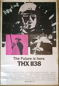 This big 40 x 60 inches (100 x 150 cm) poster is an extremely rare item - a real piece of 1970s Sci Fi movie history. For sale £174.99