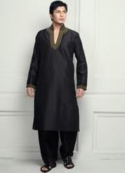 We have come up with Men Cotton Pathani Suits, which is designed as per the latest market trend.