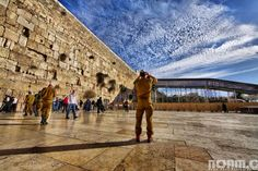 The remnant of Jerusalem's Second Temple, the Western Wall