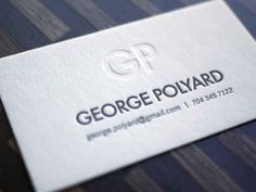 10 Minimal Business Card Designs | Inspiration - UltraLinx