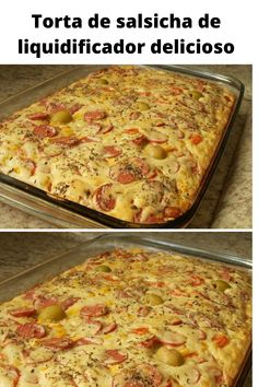 Focaccia Pizza, Yummy Food, Tasty, Bread Cake, Lasagna, Macaroni And Cheese, Meal Planning, Cake Recipes, Food And Drink