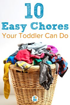 Start early with toddler chores and make them fun! Giving kids chores has many benefits and is easy to do. Below are 10 easy chores a toddler can do. Toddler Chores, Chores For Kids, Toddler Activities, Parenting Articles, Kids And Parenting, Parenting Hacks, Child Development Stages, Family Kids, Kids Learning