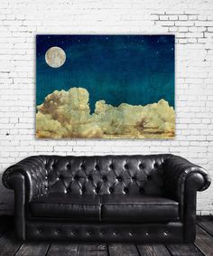 Look at this Evening Clouds Wrapped Canvas on #zulily today!