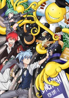 Assassination Classroom 180 [END] - Page 29 - Manga Stream