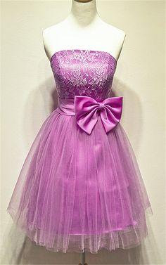 cheap Strapless Pretty Short Prom Dresses,Homecoming Dress,Graduation Dress