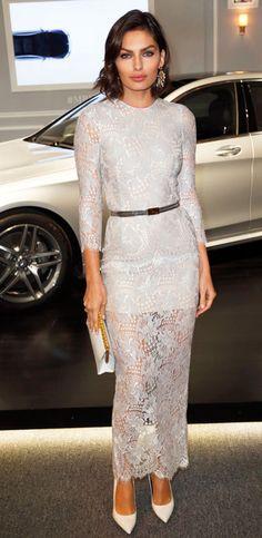 Alyssa Miller & beautiful dress <3