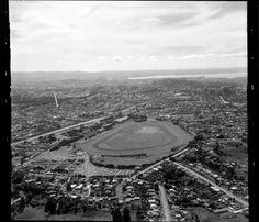 Ellerslie racecourse of the Auckland Racing Club Auckland, Historical Photos, New Zealand, Airplane View, City Photo, Racing, Club, Historical Pictures, Running