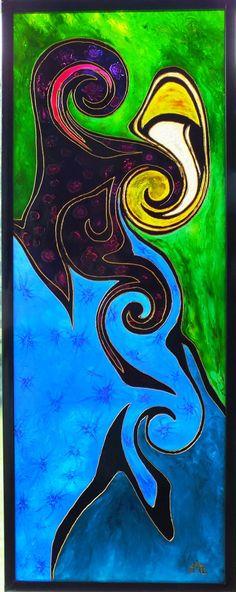 1000 images about peinture sur verre glass painting on for Peinture sur verre