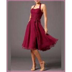 Robe de cocktail rouge lyon