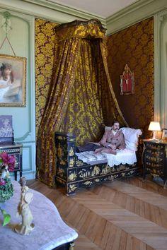 Chambre de Marcel Proust  Photo d'Irène Marfaing / Chateau de Breteuil