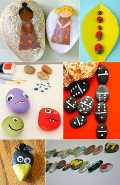MollyMoo – crafts for kids and their parents Kids Crafts Holiday Crafts For Kids, Diy Crafts For Kids, Fun Crafts, Arts And Crafts, Craft Ideas, Pebble Art, Pebble Painting, Rock Painting, Kids Class