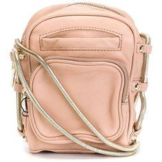 Alexander Wang 'Brenda Camera' crossbody bag ($475) ❤ liked on Polyvore