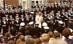 Programme de mariage _ 29 juillet 1981 _ & _  Visite du couple à la marine  * le 25 juillet 1981 *  ( Suite )