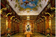 libraries | Not to mention the simply glorious Melk Monastery Library, Melk ...