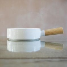 Simple White Dish, Small