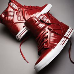 SUPRA Red Trainers