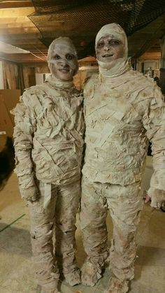 Diy mummy costume                                                                                                                                                                                 More