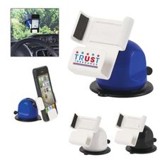 Your clients can stay safer with a custom car phone holder. Bizpen.com is your promotional products supplier