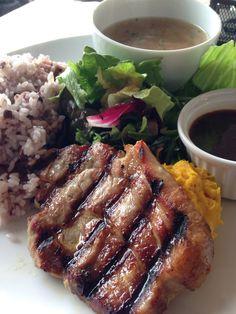 Juicy pork steak @ Pacific Diner