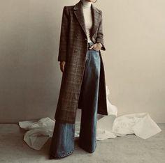 Best how to wear denim skirt winter fashion ideas Look Fashion, Hijab Fashion, Korean Fashion, Winter Fashion, Fashion Outfits, Womens Fashion, Feminine Fashion, Fashion Ideas, Fashion Scarves