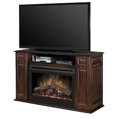 Electric fireplace tv stand Fireplace tv stand and